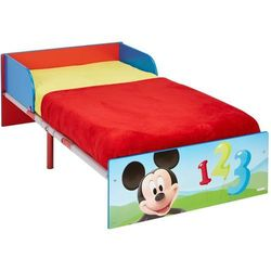 Disney łóżko dziecięce myszka miki, 143x77x43 cm, czerwone, worl119013 (5013138658451)