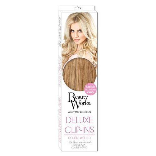 Beauty Works Deluxe Clip-In Hair Extensions 18 Inch - Tanned Blonde 10/14/16 z kategorii kosmetyki do włosów