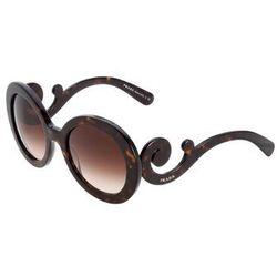 okulary przeciwsłoneczne braun od producenta Prada