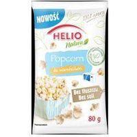 Helio Popcorn do mikrofalówki natura bez tłuszczu i soli 80g