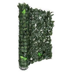 Blumfeldt Fency Dark Ivy osłona balkonowaosłona przed wiatrem 300x150cm ciemnozielony miks