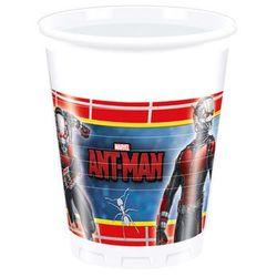 Kubeczki urodzinowe Ant-Man - 200 ml - 8 szt.