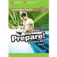 Cambridge English Prepare! Level 7 Student's Book*natychmiastowawysyłkaod3,99, CAMBRIDGE UNIVERSITY PRESS