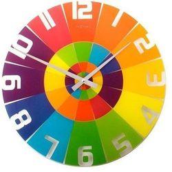 Nextime Zegar ścienny rainbow