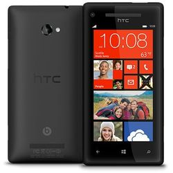 HTC Windows Phone 8X 16GB Czarny - Czarny \ 2 lata na terenie całego kraju + polskie menu + bez sim locka - s