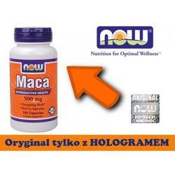 Maca 500 mg (100 kapsułek) z kategorii Pozostałe zdrowie