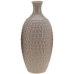 Ceramiczny wazon na kwiaty, dekoracje - wysoki, 38 x Ø 17 cm, B01N5G9IV9