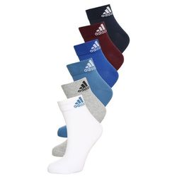 adidas Performance 6 PACK Skarpety sportowe white/croyal/conavy