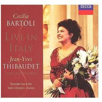 Live In Italy - Cecilia Bartoli, Jean-Yves Thibaudet, Sonatori De La Gioiosa Marca