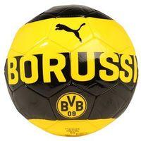 Puma BVB FAN Piłka do piłki nożnej cyber yellow/puma black, 082826