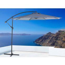 Parasol ogrodowy – antracytowy – ø 293 cm – na wysięgniku – metalowy - ravenna od producenta Beliani
