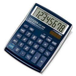 Citizen Kalkulator biurowy cdc-80wb, 8-cyfrowy, 135x105mm, niebieski