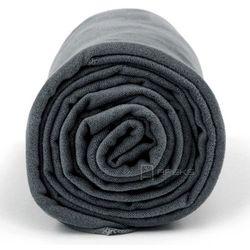 Dr.Bacty M szybkoschnący ręcznik treningowy - ciemnoszary