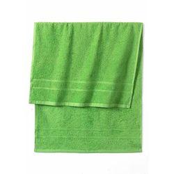 Ręczniki z ciężkiego materiału zielone jabłuszko marki Bonprix