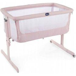 Łóżeczko Chicco Next 2 Me AIR - Paradise Pink