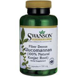 Swanson Glucomannan Konjac Root 700mg 90 kaps. (artykuł z kategorii Tabletki na odchudzanie)