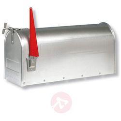 U.S. MAILBOX z wychylną chorągiewką aluminium (4003482186305)