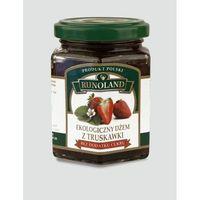 Dżem z truskawki bez cukru bio 200g-  wyprodukowany przez Runoland