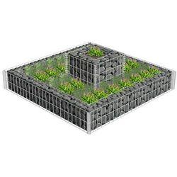 Vidaxl wielopoziomowy kosz do sadzenia roślin (8718475919513)