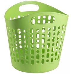 Kosz na pranie BISK Zielony