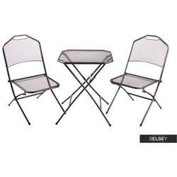 SELSEY Zestaw ogrodowy Arizoith stół z dwoma krzesłami