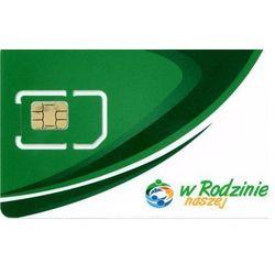 """Starter (karta SIM) - Telefonia """"w naszej Rodzinie"""" (doładowanie)"""