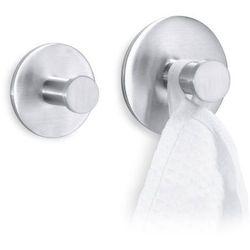Zack - Haczyk na ręcznik łazienkowy 6,5 cm Fresco - stal nierdzewna matowa