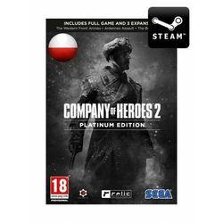 Company of Heroes 2 PL - Platinum Edition - Klucz z kategorii Kody i karty pre-paid