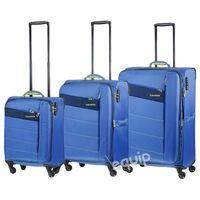 Zestaw walizek  kite - niebieski wyprodukowany przez Travelite
