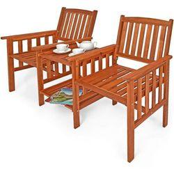 Hecht teebench meble ogrodowe zestaw mebli ogrodowych stolik + 2 krzesła drzewo meranti - ewimax oficjalny dystrybutor - autoryzowany dealer hecht marki Hecht czechy