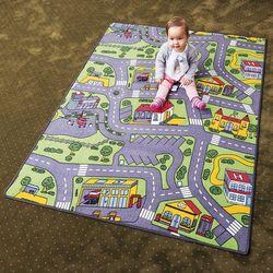 Vopi Dywan dziecięcy City life, 133x165 cm, 133 x 165 cm, 133 x 165 cm - sprawdź w wybranym sklepie