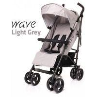 4baby Wózek spacerowy  wave light grey