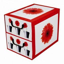 Pudełko kartonowe 2 szuflady pionowe DONICZKI-GERBERY (doniczka i podstawka) od kamai24.pl