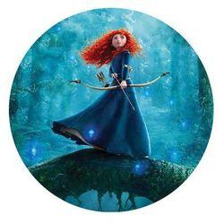 Dekoracyjny opłatek tortowy princess - księżniczki - 20 cm - 16 marki Modew