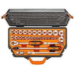Klucze nasadowe NEO 1/2 cala 08-618 (33 elementów) + DARMOWY TRANSPORT! (5907558402728)