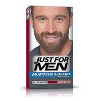 Just for men  m-35 średni brąz odsiwiacz, żel broda,wąsy,baki 2x14,2g