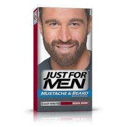 m-35 średni brąz odsiwiacz, żel broda,wąsy,baki 2x14,2g wyprodukowany przez Just for men