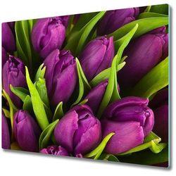 Deska do krojenia Fioletowe tulipany