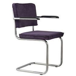 Zuiver Fotel RIDGE RIB purpurowy 15A 1006057, 1006057