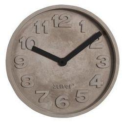 Zuiver Zegar betonowy z czarnymi wskazówkami 8500028 (8718548024199)