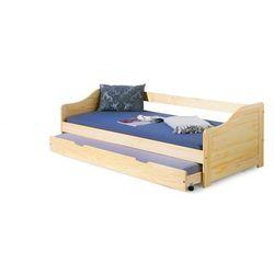 Łóżko dziecięce HALMAR LAURA, sosna. DOSTAWA GRATIS, Promocja Spokojny Sen
