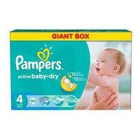 Pampers Pieluszki  active baby-dry rozmiar 4 maxi, 90 szt.
