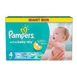 Pieluszki Pampers Active Baby-dry rozmiar 4 Maxi, 90 szt., kup u jednego z partnerów