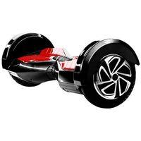 Skymaster Elektryczna deskorolka  2 wheels 8 bt speaker czarno-czerwony
