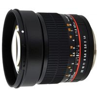 85 mm f/1.4 if umc / nikon ae marki Samyang