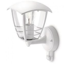 Philips 15388/31/16 - Kinkiet zewnętrzny z czujnikiem ruchu CREEK 1xE27/60W/230V - produkt dostępny w Liderlamp.pl  Tylko u nas wyprzedaże do -70%