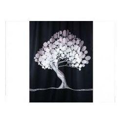 Bisk Zasłonka prysznicowa tekstylna 1,8x 2,0 m bonsai