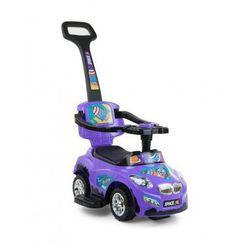 Milly Mally jeździk dziecięcy HAPPY pchacz samochód violet - produkt z kategorii- Pchacze