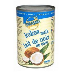 TERRASANA 400ml Mleko kokosowe Bio | DARMOWA DOSTAWA OD 200 ZŁ z kategorii Kuchnie świata