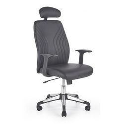 Fotel gabinetowy Durant - czarny